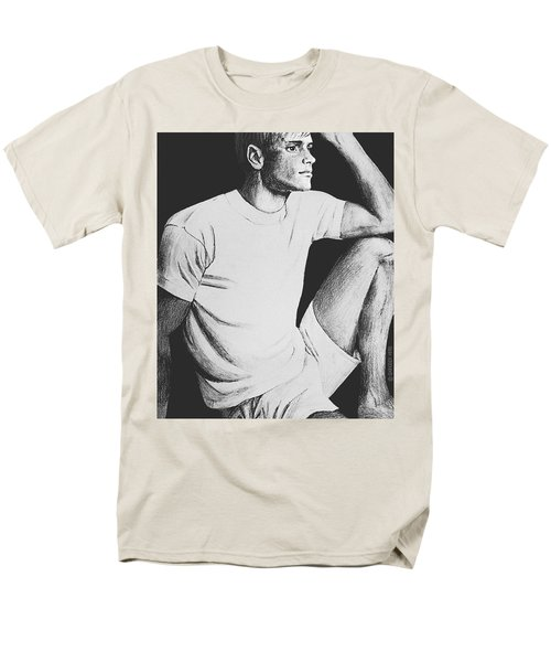 Men's T-Shirt  (Regular Fit) featuring the drawing Daydreaming by Sophia Schmierer