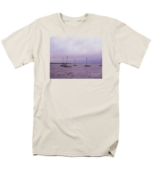 Men's T-Shirt  (Regular Fit) featuring the photograph Delaware Harbor by David Jackson