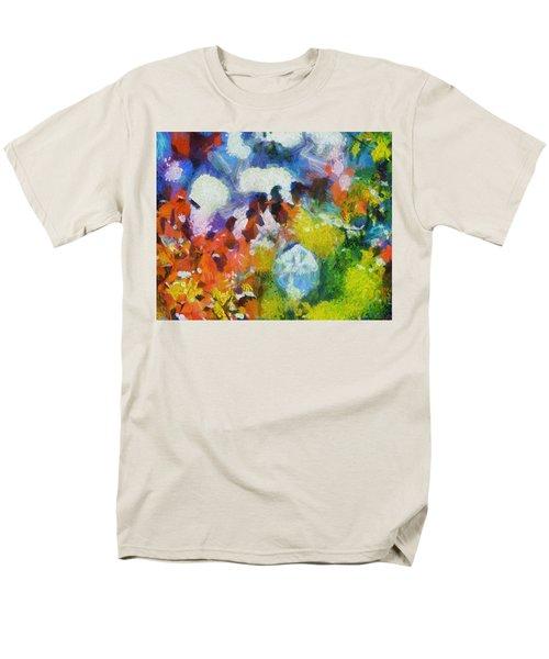 Men's T-Shirt  (Regular Fit) featuring the digital art Delightful Surprise by Joe Misrasi