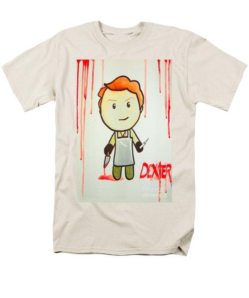 Men's T-Shirt  (Regular Fit) featuring the painting Dexter by Marisela Mungia