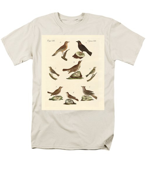 Different Kinds Of Larks Men's T-Shirt  (Regular Fit) by Splendid Art Prints