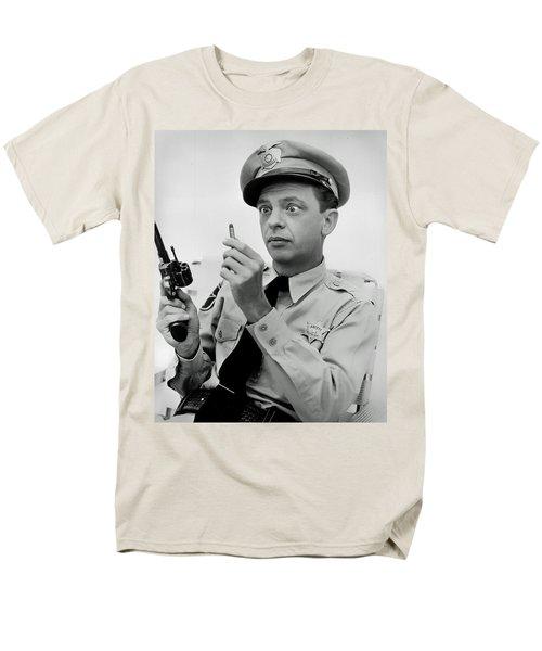 Barney Fife - Don Knotts Men's T-Shirt  (Regular Fit) by Mountain Dreams