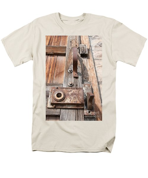 Door Knob Men's T-Shirt  (Regular Fit) by Minnie Lippiatt