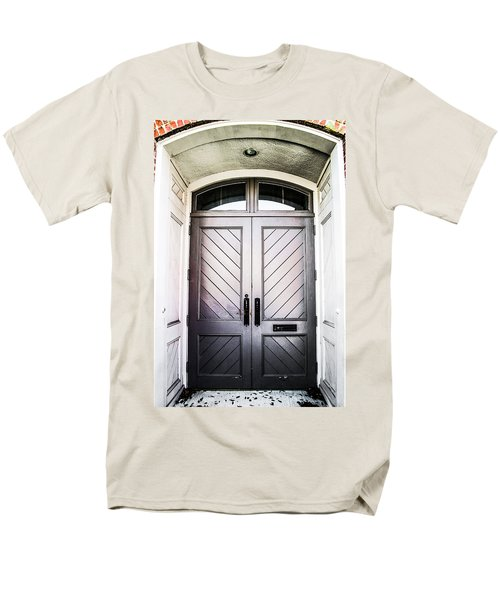 Doorway At Morris Avenue Men's T-Shirt  (Regular Fit) by Shelby  Young