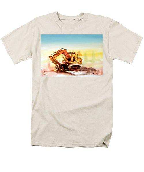 Dozer October Men's T-Shirt  (Regular Fit) by Kip DeVore