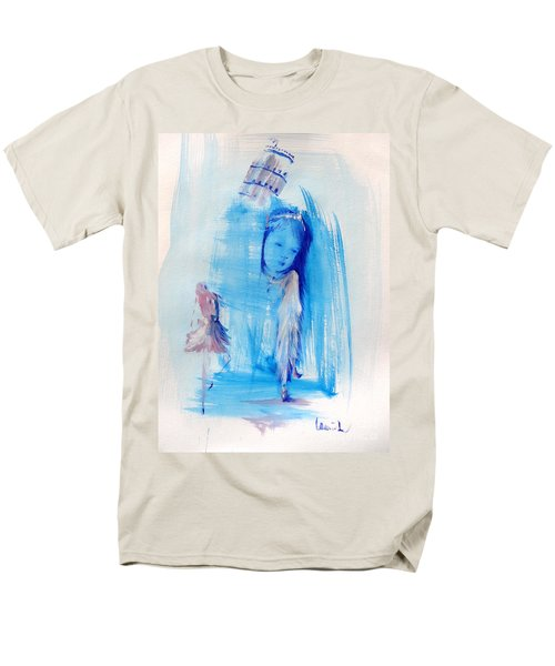 Men's T-Shirt  (Regular Fit) featuring the painting Dreaming Of Pisa by Laurie L