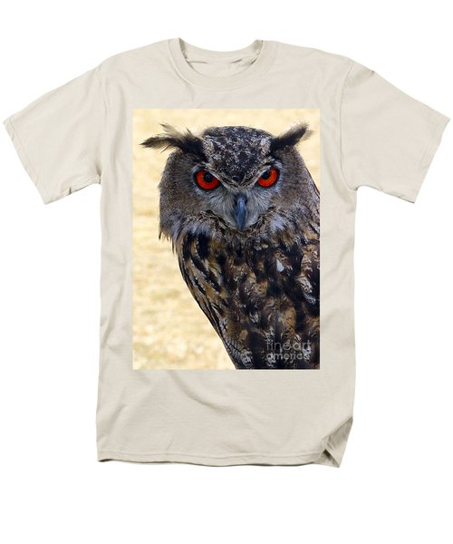 Eagle Owl Men's T-Shirt  (Regular Fit) by Anthony Sacco