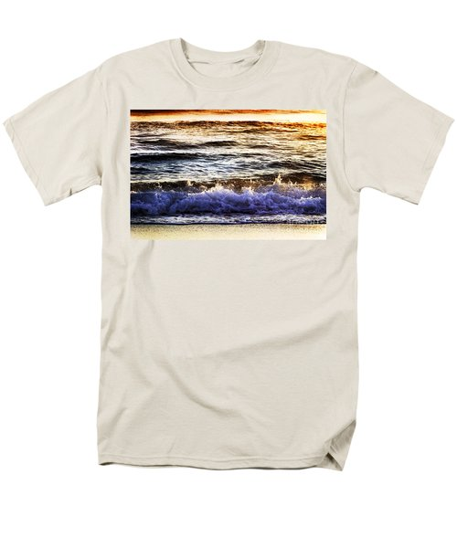 Early Morning Frothy Waves Men's T-Shirt  (Regular Fit) by Amyn Nasser