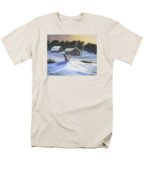 Early Snow Men's T-Shirt  (Regular Fit) by Jack Malloch