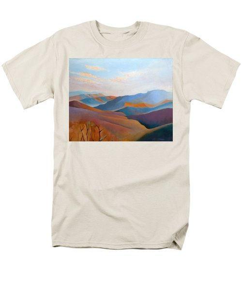 East Fall Blue Ridge No.3 Men's T-Shirt  (Regular Fit) by Catherine Twomey