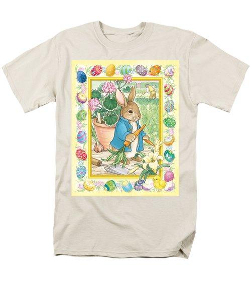Easter Bunny Men's T-Shirt  (Regular Fit)