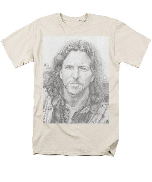 Eddie Vedder Men's T-Shirt  (Regular Fit) by Olivia Schiermeyer