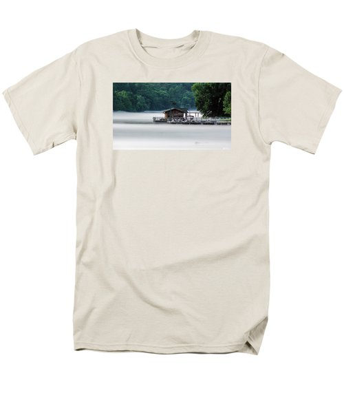 Men's T-Shirt  (Regular Fit) featuring the photograph Eerie Day by Elaine Malott