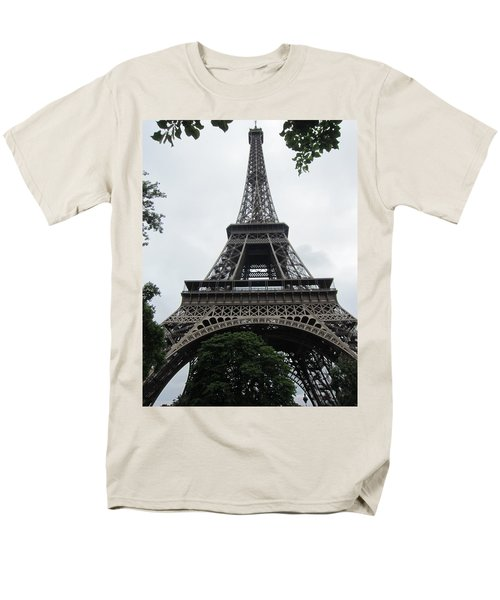 Men's T-Shirt  (Regular Fit) featuring the photograph Eiffel Tower by Pema Hou