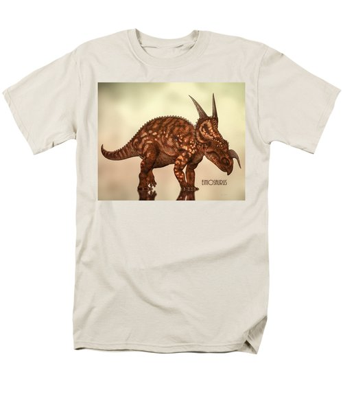 Einiosaurus Men's T-Shirt  (Regular Fit) by Bob Orsillo