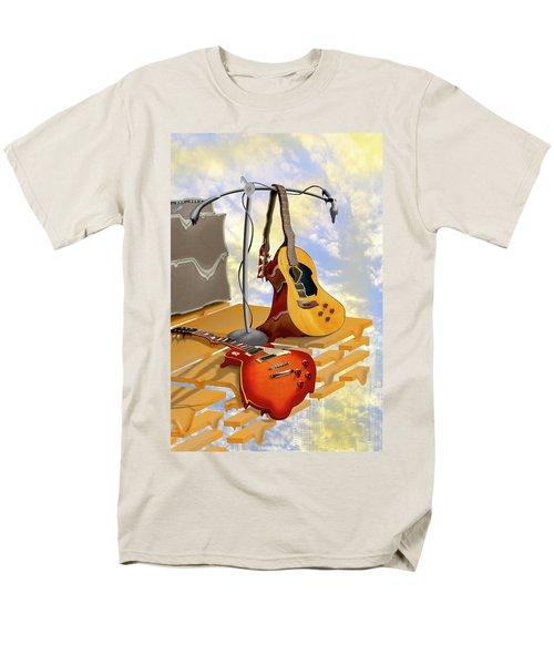 Electrical Meltdown Men's T-Shirt  (Regular Fit) by Mike McGlothlen