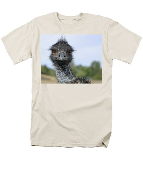 Men's T-Shirt  (Regular Fit) featuring the photograph Emu Gaze by Belinda Greb