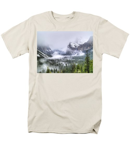 Enchanted Valley Men's T-Shirt  (Regular Fit) by Bill Gallagher