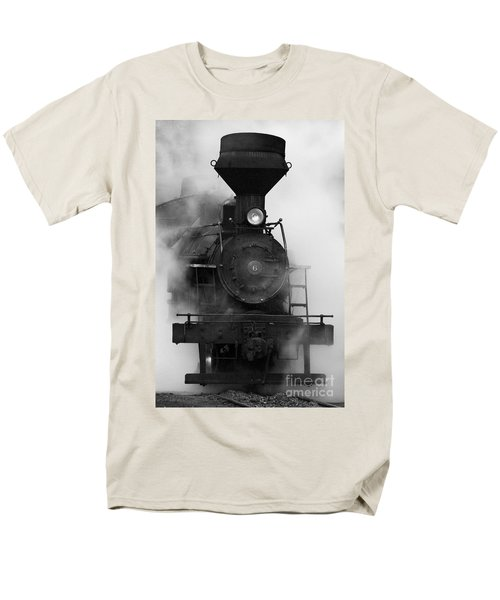 Engine No. 6 Men's T-Shirt  (Regular Fit) by Jerry Fornarotto