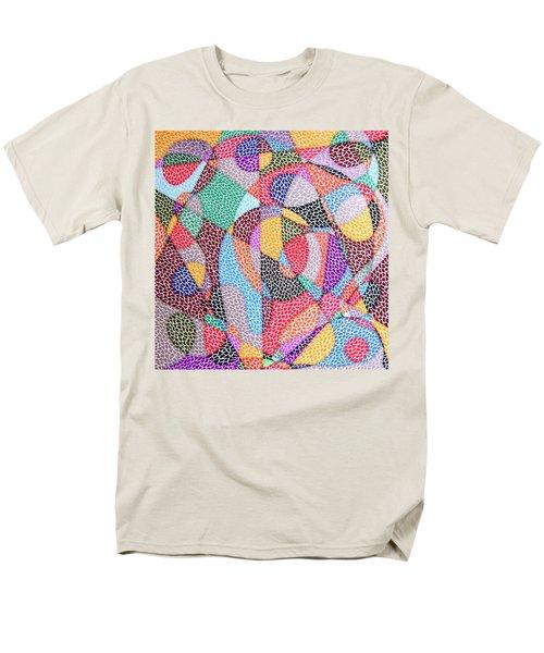 Convergence Men's T-Shirt  (Regular Fit) by Kruti Shah