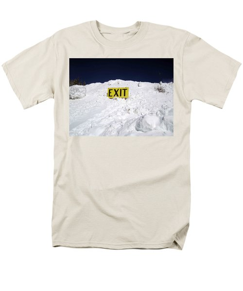 Men's T-Shirt  (Regular Fit) featuring the photograph Exit by Fiona Kennard