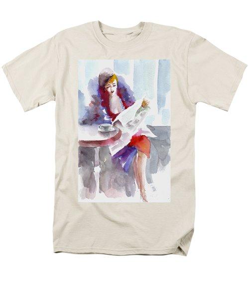 Expectation.. Men's T-Shirt  (Regular Fit) by Faruk Koksal