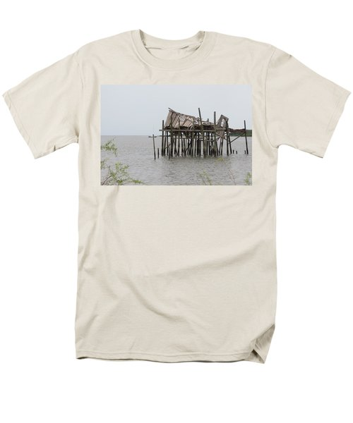Fallen Deckhouse Men's T-Shirt  (Regular Fit) by Fortunate Findings Shirley Dickerson