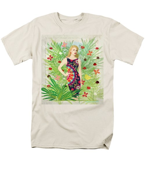 Fashion And Art - Limited Edition 1 Of 10 Men's T-Shirt  (Regular Fit) by Gabriela Delgado