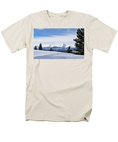 Men's T-Shirt  (Regular Fit) featuring the photograph February Wind by Jeremy Rhoades