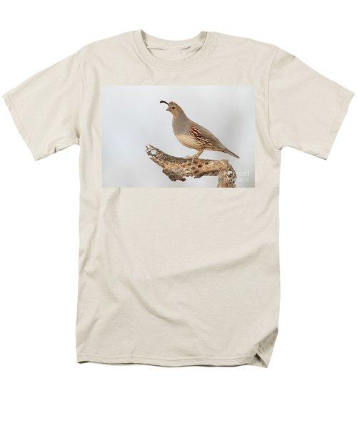Female Gambel's Quail Men's T-Shirt  (Regular Fit) by Bryan Keil