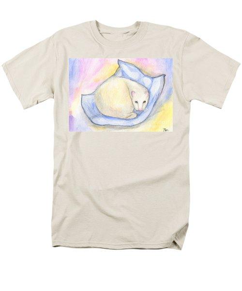 Ferret's Day Off Men's T-Shirt  (Regular Fit) by Roz Abellera Art