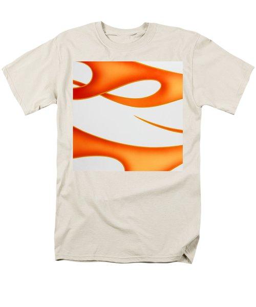 Firey Orange Men's T-Shirt  (Regular Fit) by Joe Kozlowski