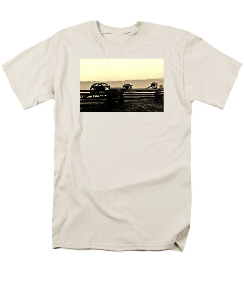 Firing Line Men's T-Shirt  (Regular Fit) by Daniel Thompson