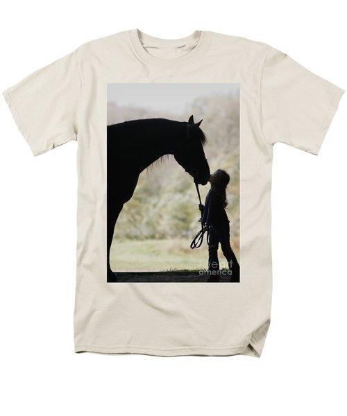First Kiss Men's T-Shirt  (Regular Fit) by Carol Lynn Coronios