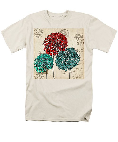 Floral Delight Iv Men's T-Shirt  (Regular Fit) by Lourry Legarde