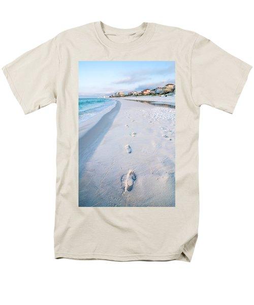 Florida Beach Scene Men's T-Shirt  (Regular Fit) by Alex Grichenko