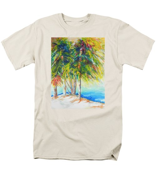 Florida Inspiration  Men's T-Shirt  (Regular Fit) by Chrisann Ellis
