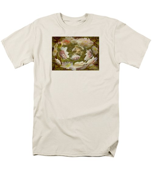 Flower Drift Men's T-Shirt  (Regular Fit) by Nareeta Martin