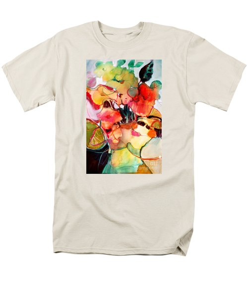 Flower Vase No. 2 Men's T-Shirt  (Regular Fit) by Michelle Abrams