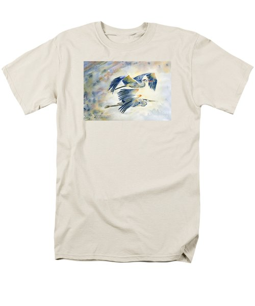 Flying Together Men's T-Shirt  (Regular Fit) by Melly Terpening