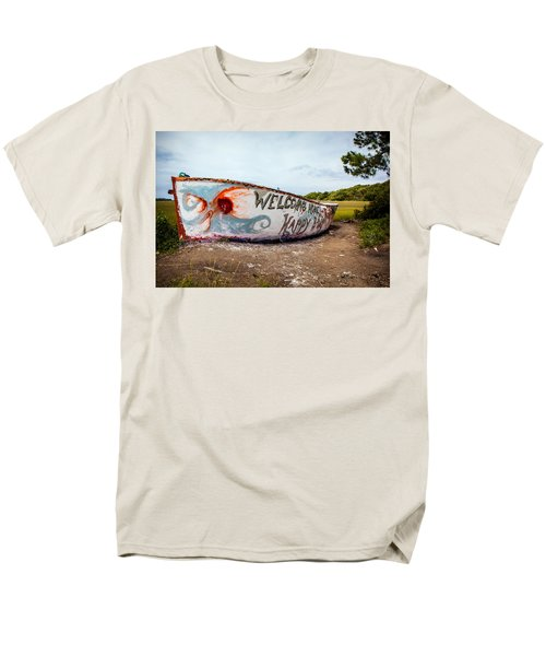Men's T-Shirt  (Regular Fit) featuring the photograph Folly Boat by Sennie Pierson