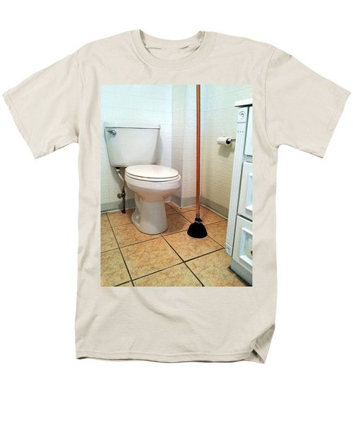 For The Big Jobs. Men's T-Shirt  (Regular Fit) by Lon Casler Bixby