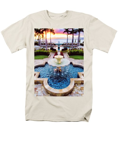 Four Seasons 50 Men's T-Shirt  (Regular Fit) by Dawn Eshelman
