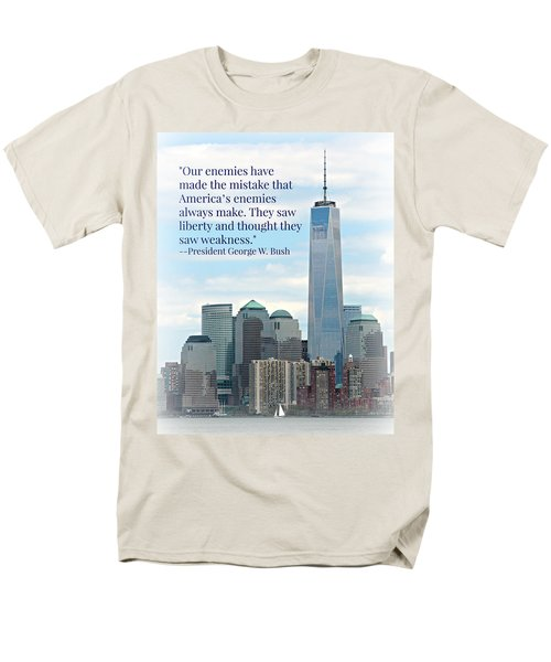 Freedom On The Rise Men's T-Shirt  (Regular Fit) by Stephen Stookey