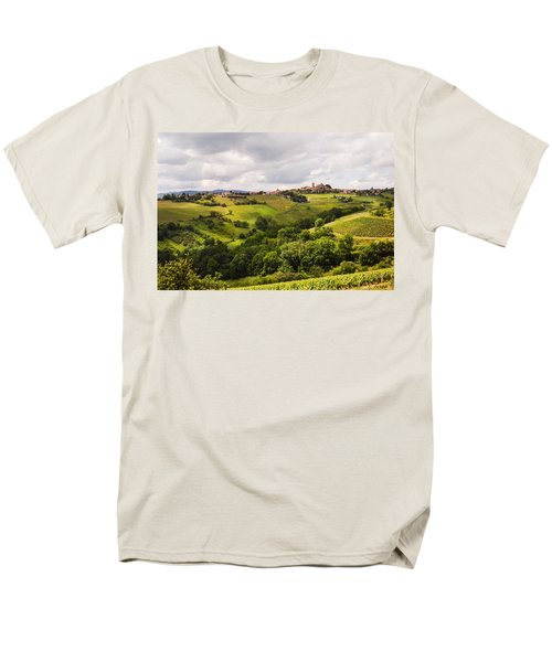 Men's T-Shirt  (Regular Fit) featuring the photograph French Countryside by Allen Sheffield