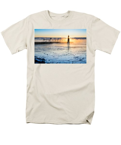 Frigid Sunrise Fog  Men's T-Shirt  (Regular Fit)