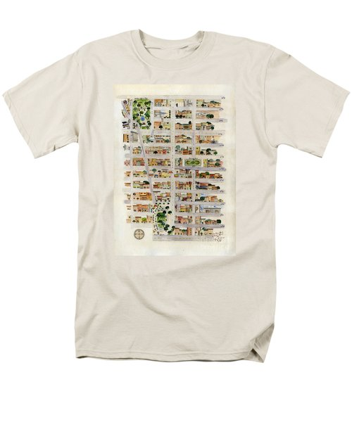 From Union Square To Madison Square Men's T-Shirt  (Regular Fit) by AFineLyne