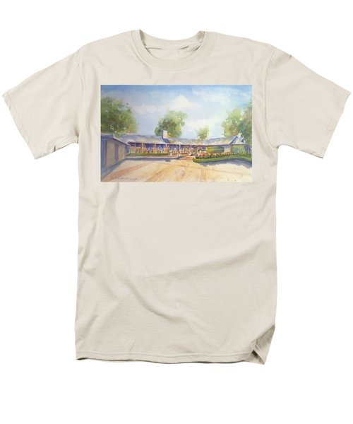 Front Of Home Men's T-Shirt  (Regular Fit) by Debbie Lewis