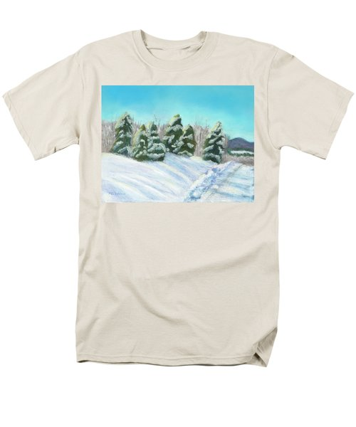 Men's T-Shirt  (Regular Fit) featuring the painting Frozen Sunshine by Arlene Crafton