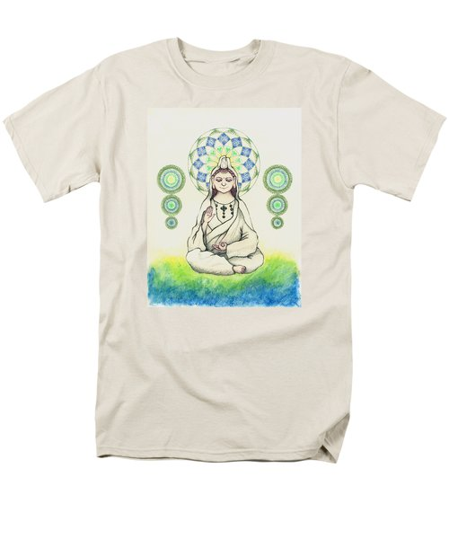 Fureai Quan Yin In Kyoto Men's T-Shirt  (Regular Fit) by Keiko Katsuta